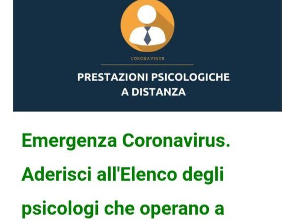 Aderisco all'iniziativa del mio ordine professionale per emergenza corona virus